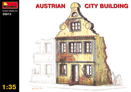 MiniArt Austrian City Building 1:35