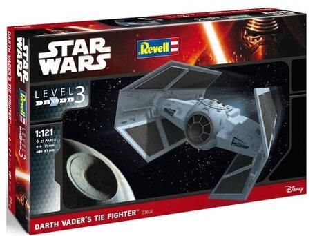 Revell Star Wars Darth Vader's Tie Fighter 1:121