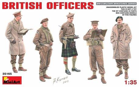 MiniArt British Officers 1:35