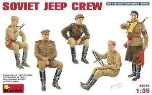 MiniArt Soviet Jeep Crew 1:35