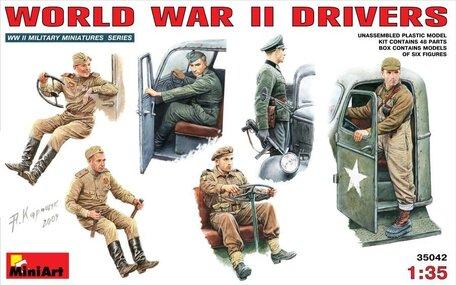 MiniArt World War II Drivers 1:35
