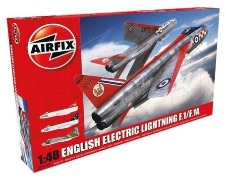 Airfix English Electric Lightning F1/F1A/F2/F3 1:48