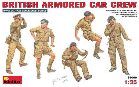 MiniArt British Armoured Car Crew 1:35
