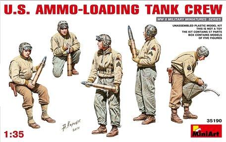 MiniArt U.S. Ammo-Loading Tank Crew 1:35