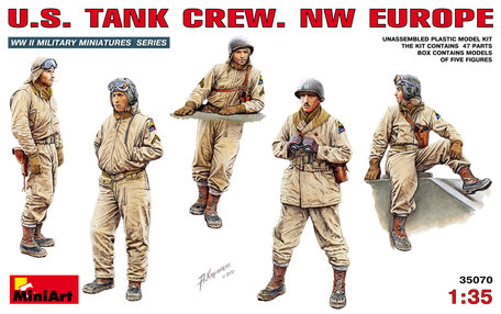 MiniArt U.S. Tank Crew NW Europe 1:35
