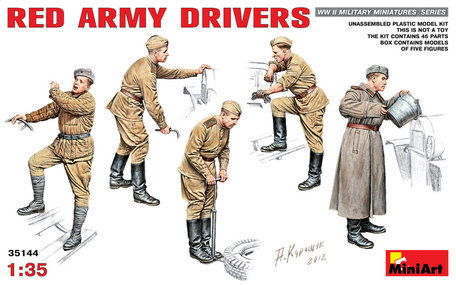 MiniArt Red Army Drivers 1:35