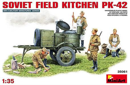 MiniArt Soviet Field Kitchen KP-42 1:35