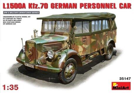 MiniArt L1500A Kfz.70 German Personnel Car 1:35