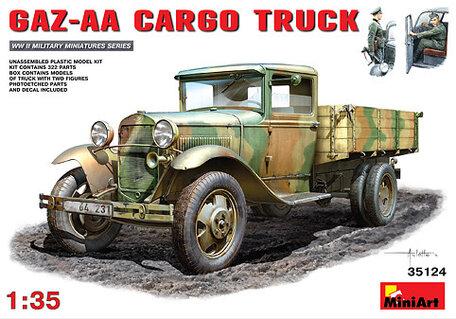 MiniArt GAZ-AA Cargo Truck 1:35