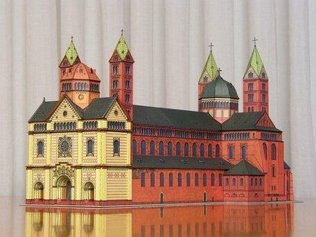 Schreiber Bogen Dom zu Speyer