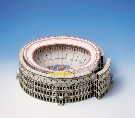 Schreiber Bogen Coliseum Rome