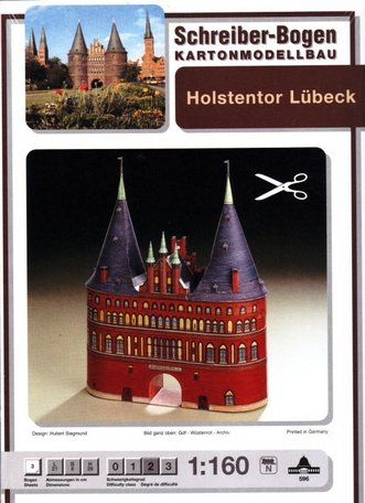 Schreiber Bogen Holstentor Lubeck