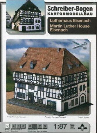 Schreiber Bogen Martin Luther House Eisenach