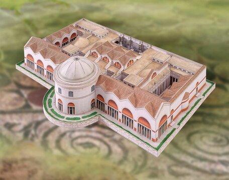 Schreiber Bogen Baths of Caracalla