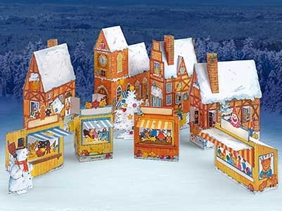 Schreiber Bogen Advent Calendar Village