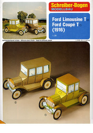 Schreiber Bogen Ford Limousine T