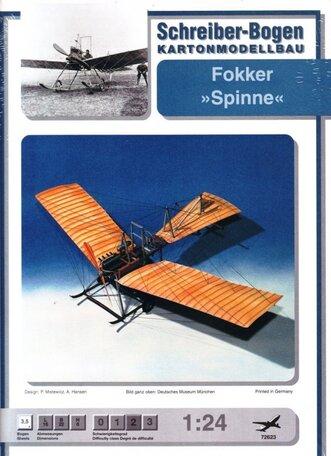 Schreiber Bogen Fokker Spinne