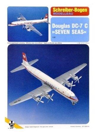 Schreiber Bogen Douglas DC-7 C Seven Seas