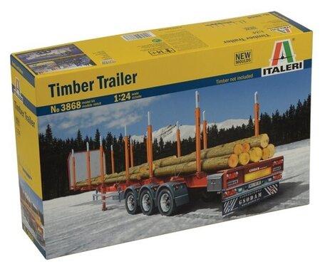 Italeri Timber Trailer 1:24