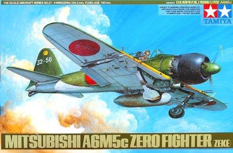 Tamiya Mitsubishi A6M5c Zero Fighter 1:48