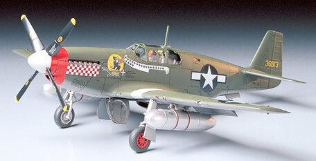 Tamiya North American P-51B Mustang 1:48