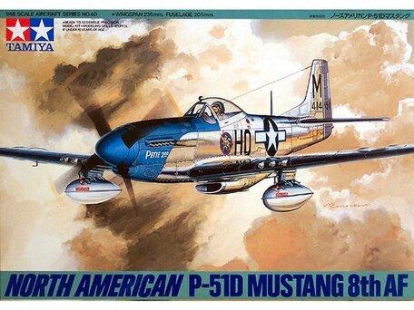Tamiya North American P-51D Mustang 1:48