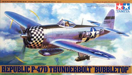 Tamiya Republic P-47D Thunderbolt Bubbletop 1:48