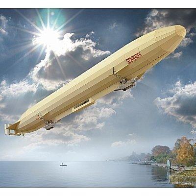 Schreiber Bogen Airship LZ 10 Schwaben