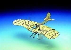 Schreiber Bogen Lilienthal-Glider
