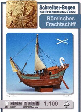 Schreiber Bogen Romisches Frachtschiff