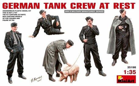 MiniArt German Tank Crew at Rest 1:35