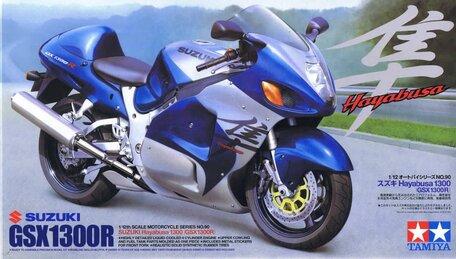 Tamiya Suzuki GSX 1300R 1:12
