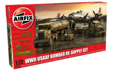 Airfix WWII USAAF Bomber Re-Supply Set 1:72