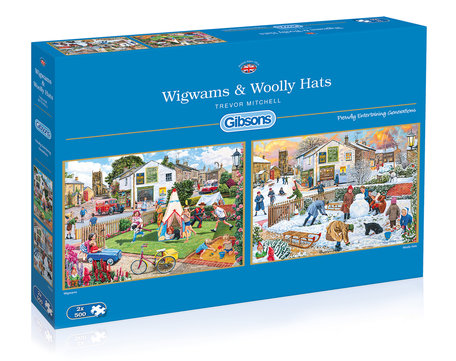 Gibsons Wigwams and Woolly Hats
