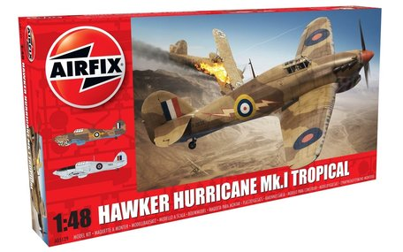 Airfix Hawker Hurricane Mk.I Tropical 1:48