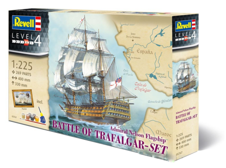 Revell Gift-Set Battle of Trafalgar 1:225