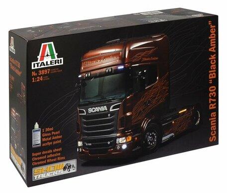 Italeri Scania R730 Black Amber 1:24