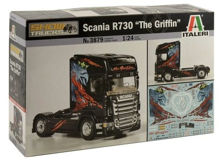 Italeri Scania R730 The Griffin 1:24
