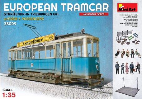 MiniArt European Tramcar 1:35