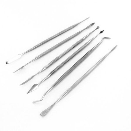 Stainless Steel Carvers 6 delig (Modelcraft)