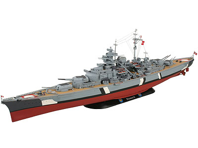 Revell Bismarck 1:350
