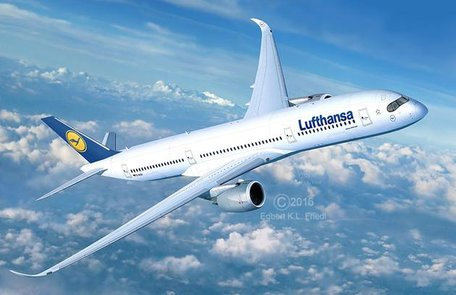 Revell Airbus A350-900 Lufthansa 1:144