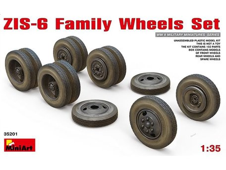 MiniArt T-34 Wheels Set 1942 Series 1:35