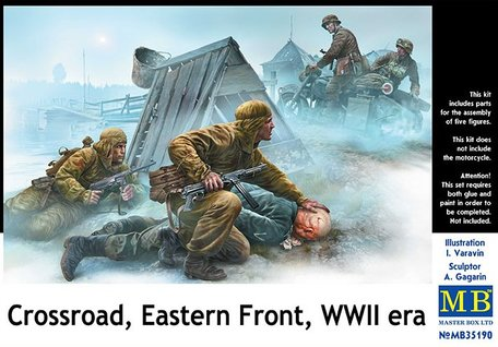 Masterbox Crossroad, Eastern Front 1:35
