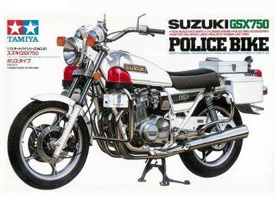 Tamiya Suzuki GSX750 Police Bike 1:12