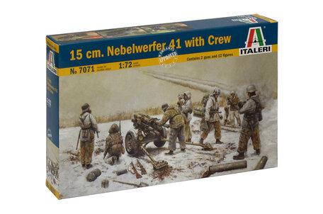 Italeri 15 cm. Nebelwerfer 41 with Crew 1:72