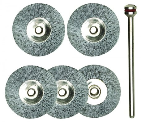 Proxxon Steel Wire Wheel Brushes (28952)