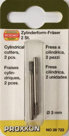 Proxxon Cylindrical Cutters (28722)