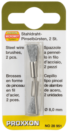 Proxxon Steel Wire Brushes (28951)