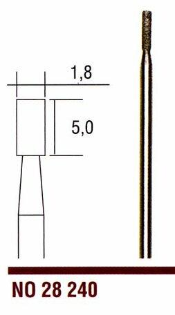 Proxxon Diamond Grinding Bit Cylindrical (28240)